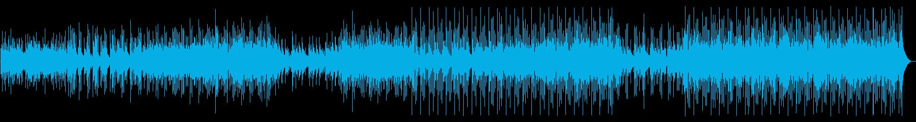 素敵なピアノとマンドリンのメロディ...の再生済みの波形