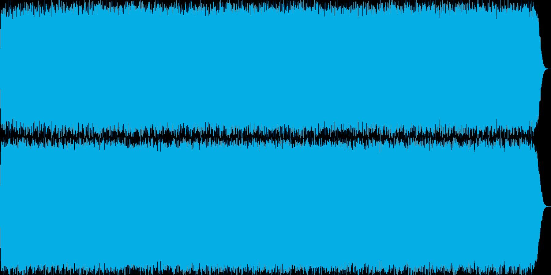 壮大なイメージのリラクゼーション曲の再生済みの波形