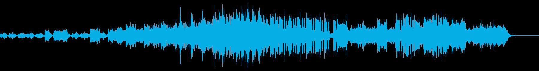 洋画のサスペンスの再生済みの波形