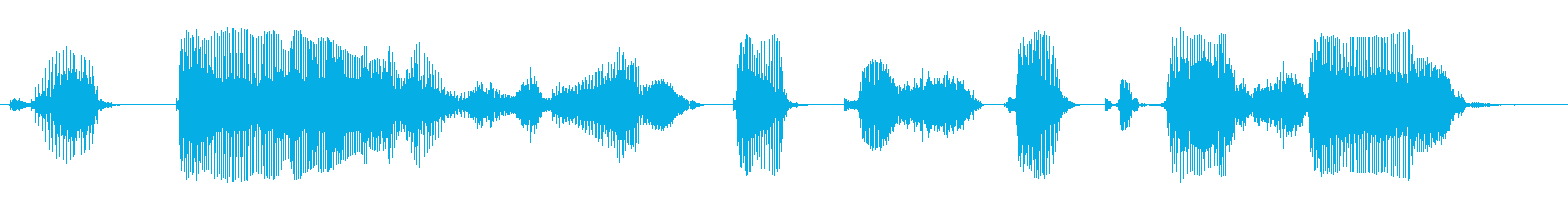 答えを選択してくださいの再生済みの波形
