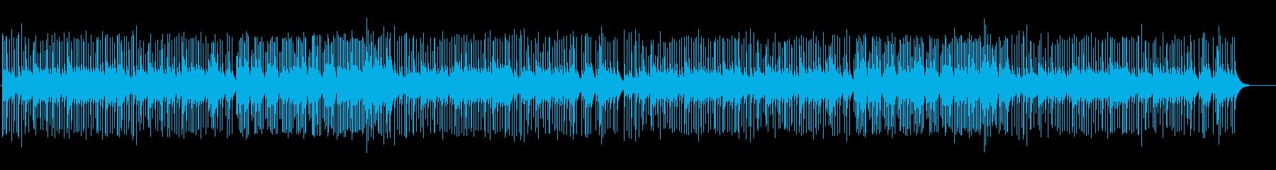 思い出が蘇るようなBGMの再生済みの波形
