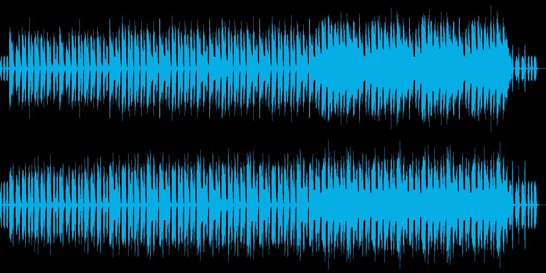 ハッピーエンドを感じる牧歌的で明るい小曲の再生済みの波形