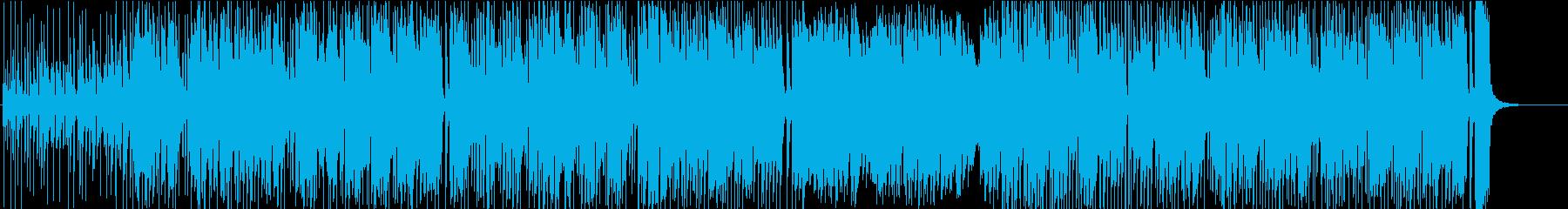 プログレ・ゲーム音楽風の再生済みの波形