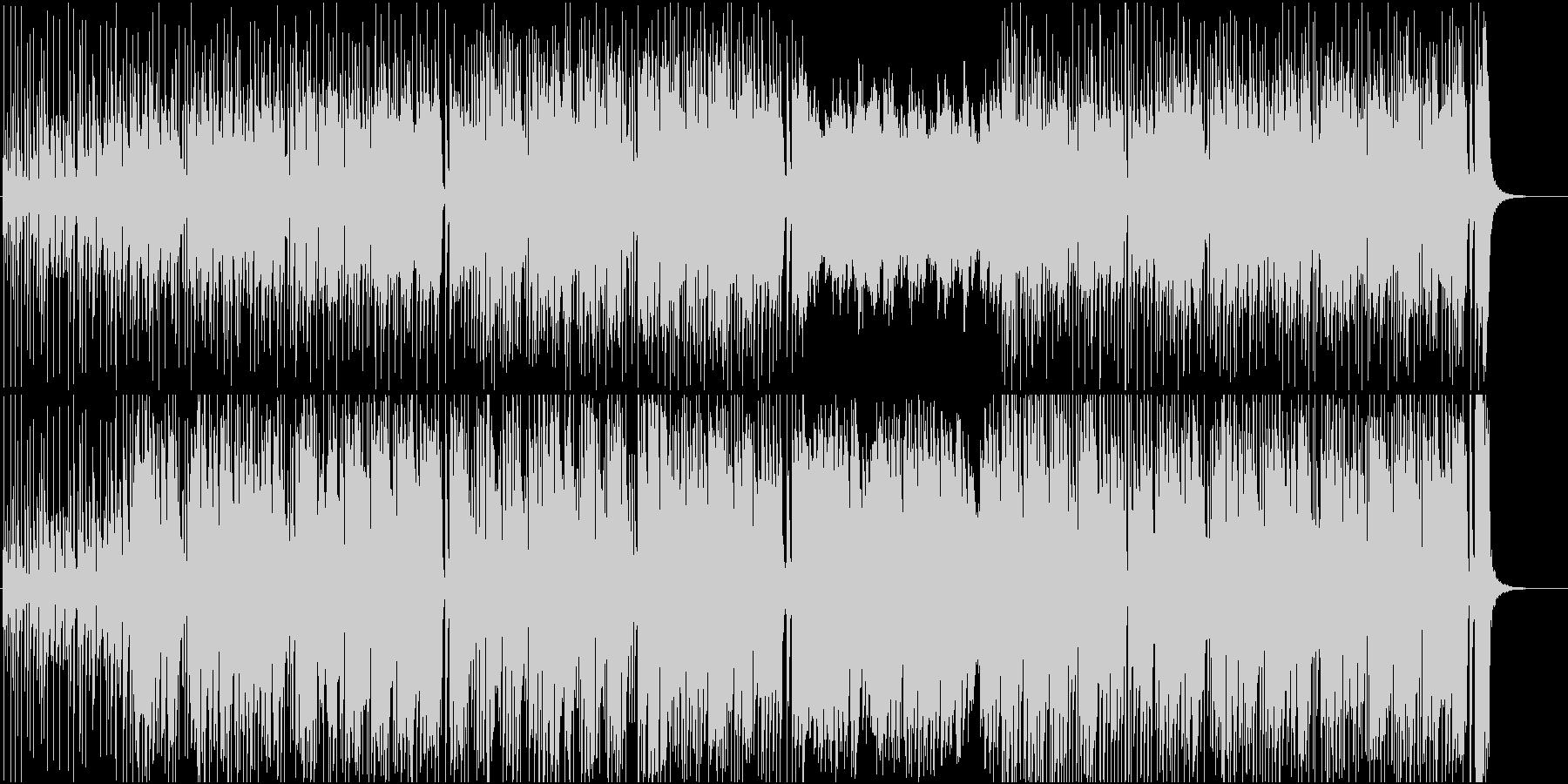 プログレ・ゲーム音楽風の未再生の波形