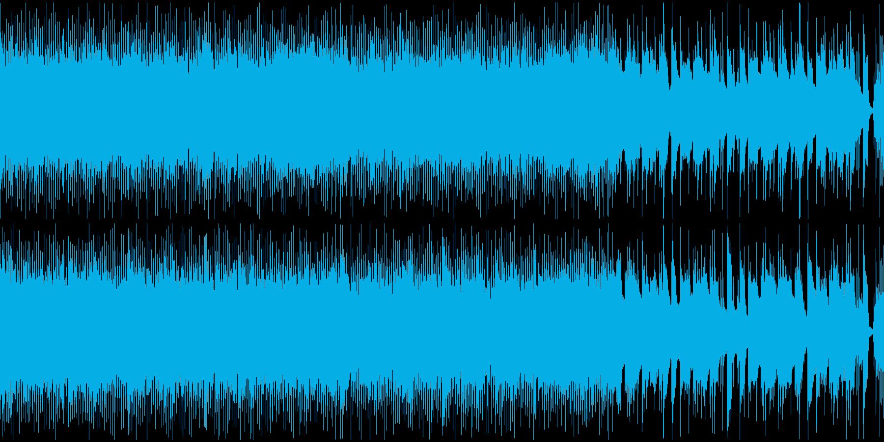レトロな雰囲気を持つ戦闘BGMの再生済みの波形