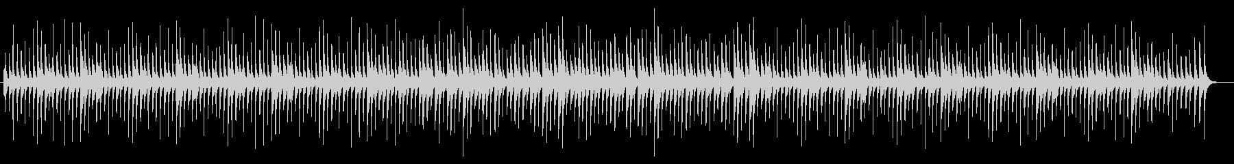 切ないオルゴールサウンドの未再生の波形