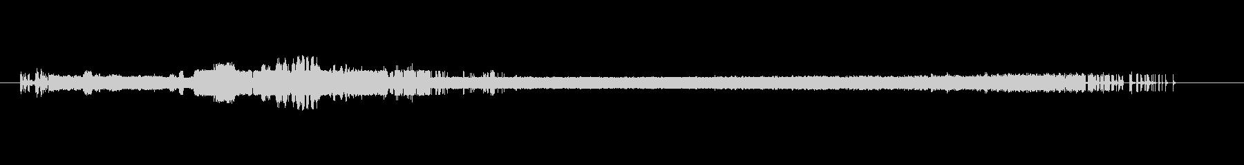 リプレイ向けホラー効果音1 金属&ノイズの未再生の波形