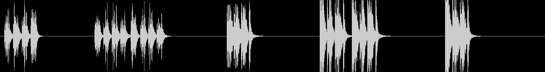 ドラムフィル-5つのエフェクト。さ...の未再生の波形