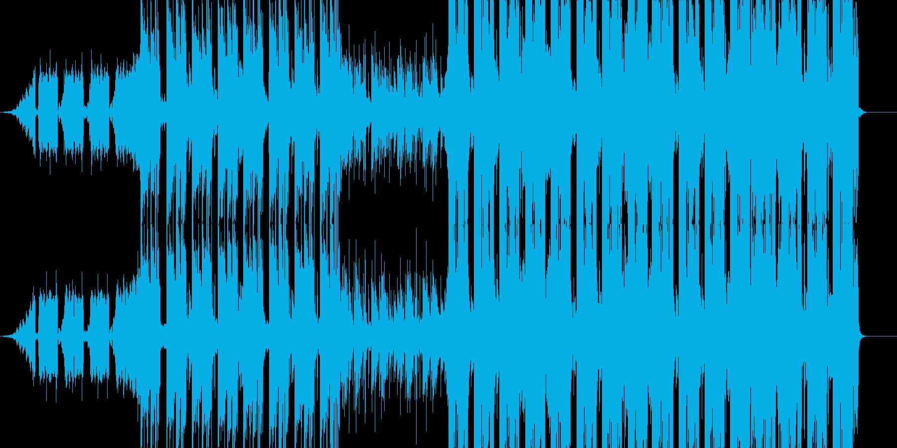 エモい洋楽/Kpop系のトラックの再生済みの波形