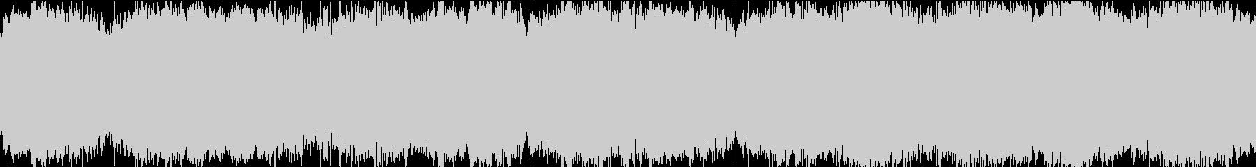 ループ対応のアンビエント・ミュージックの未再生の波形