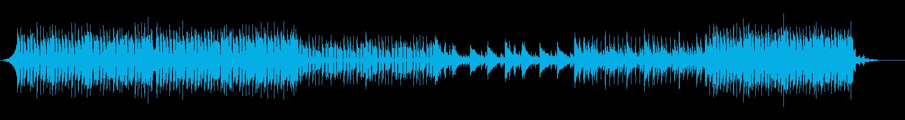 どこか儚いEDMの再生済みの波形