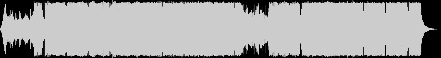 イケイケドンドンバトル曲の未再生の波形
