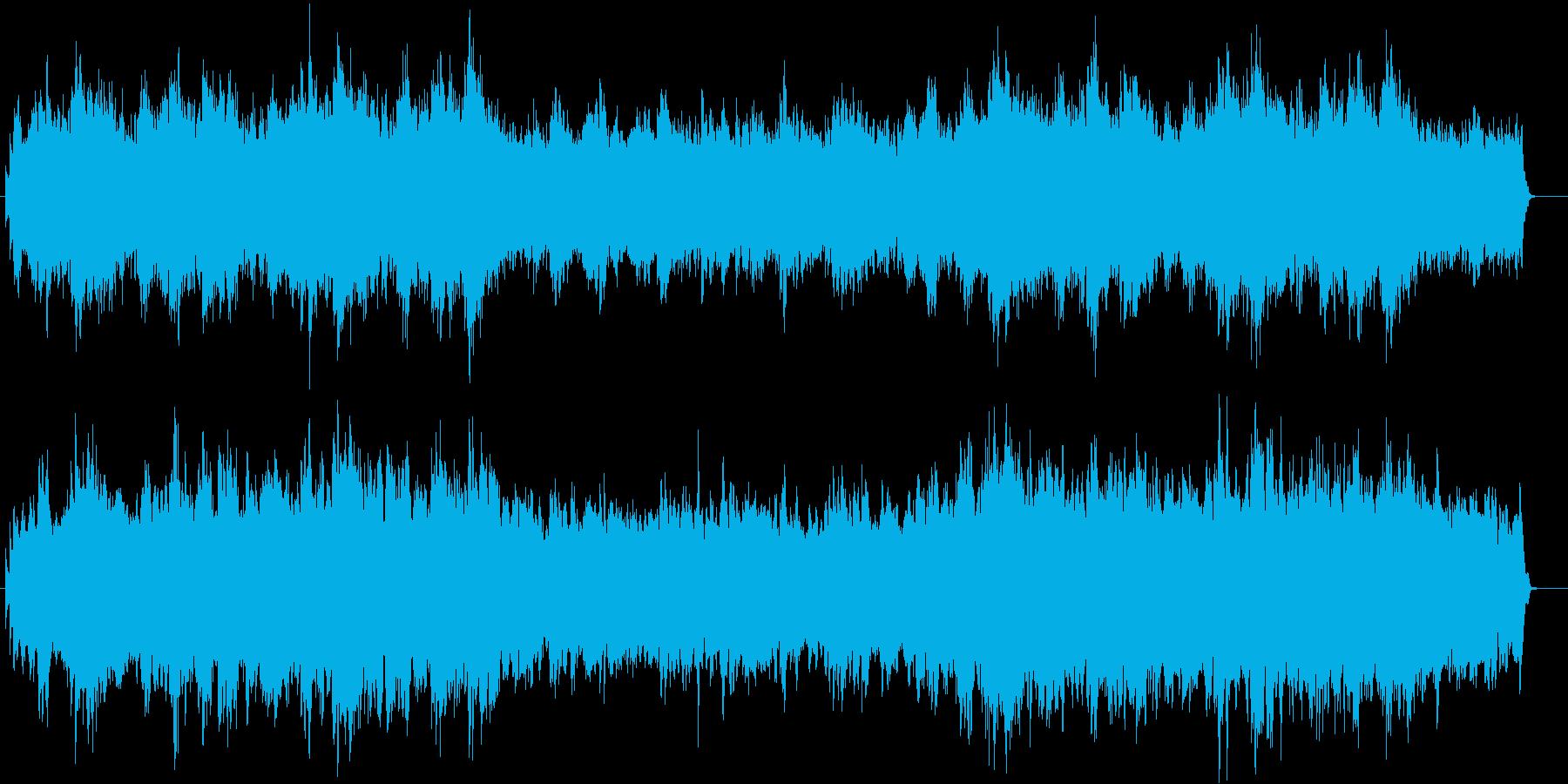 上品 感動 ブライダル 旅立ち 回想の再生済みの波形