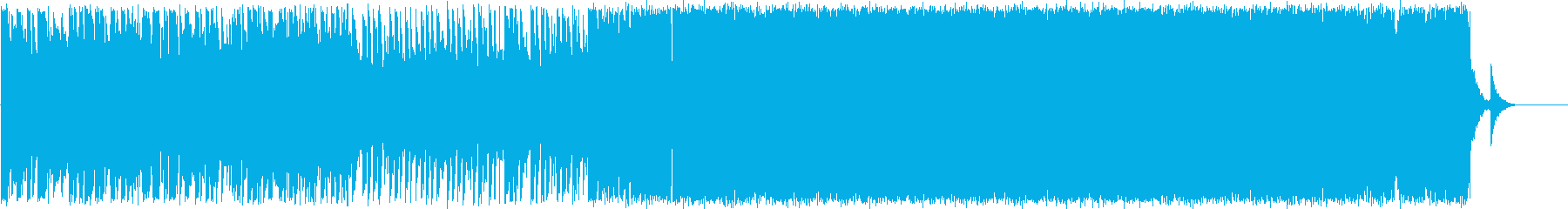 爽やかなエレクトロポップスの再生済みの波形