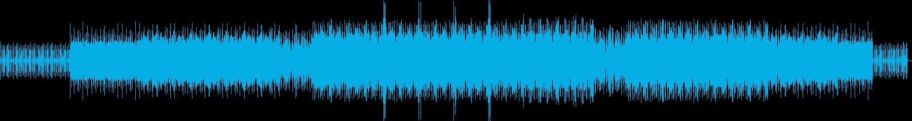テクノ。最小限。エッセンシャルの再生済みの波形