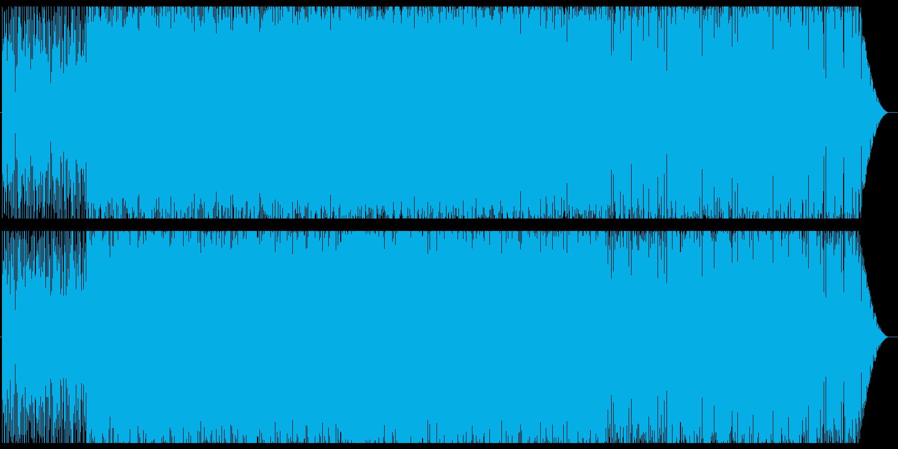 デジタルロックからファンキーへの再生済みの波形