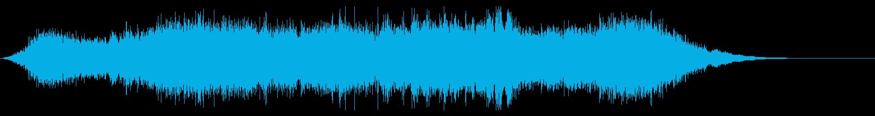 Dark_ホラーで怪しく神秘的-04の再生済みの波形