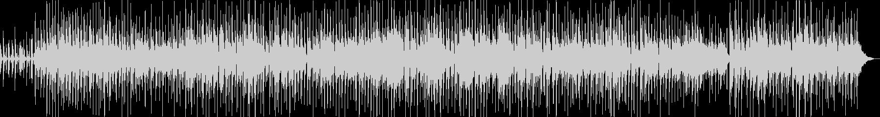 シンプルで穏やかなアコースティックの未再生の波形