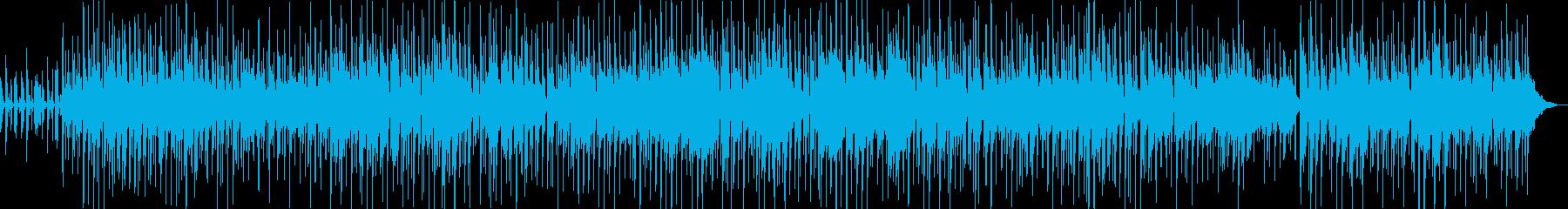 シンプルで穏やかなアコースティックの再生済みの波形