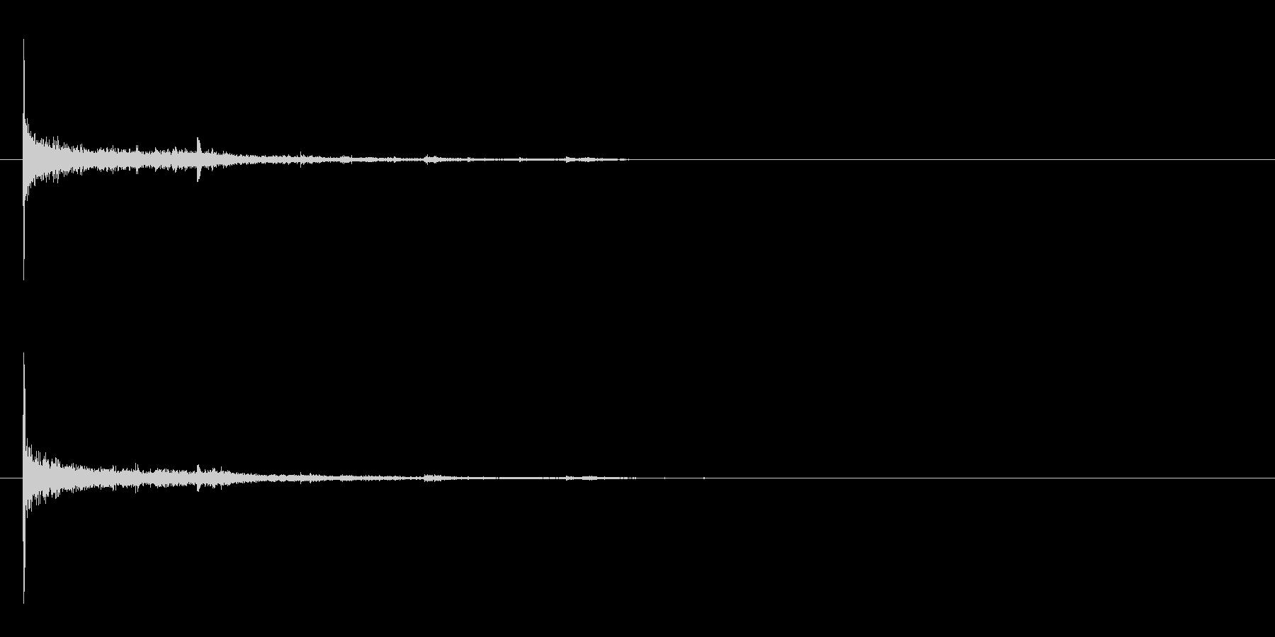 電球の破裂-05の未再生の波形