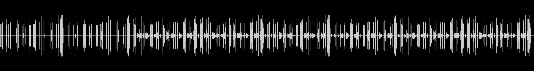 ふしぎ・まぬけ・コミカル・脱力・8bitの未再生の波形