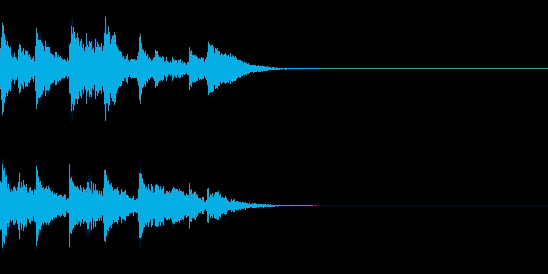 残響 ピアノ 冷たい 終幕の再生済みの波形