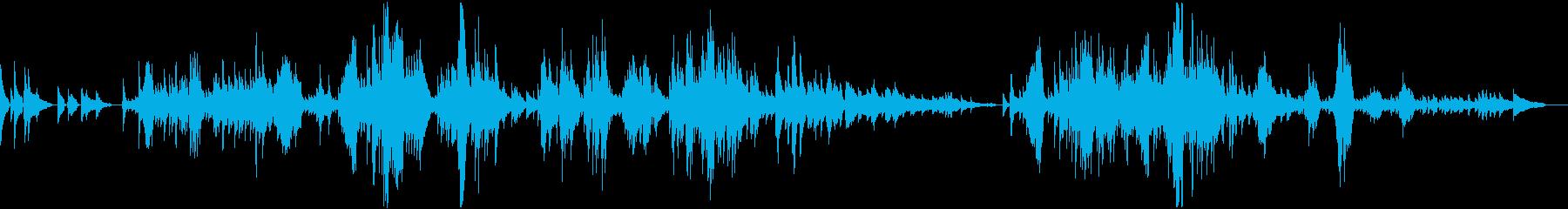 ショパンノクターン 第20番「遺作」 の再生済みの波形
