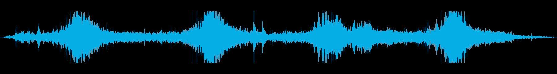ジェットスキーパスの再生済みの波形