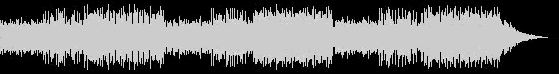 GB風アクションゲームのタイトル曲の未再生の波形