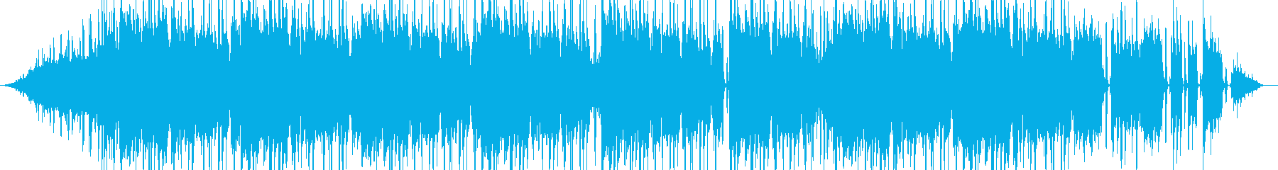 覚醒系ビートの再生済みの波形