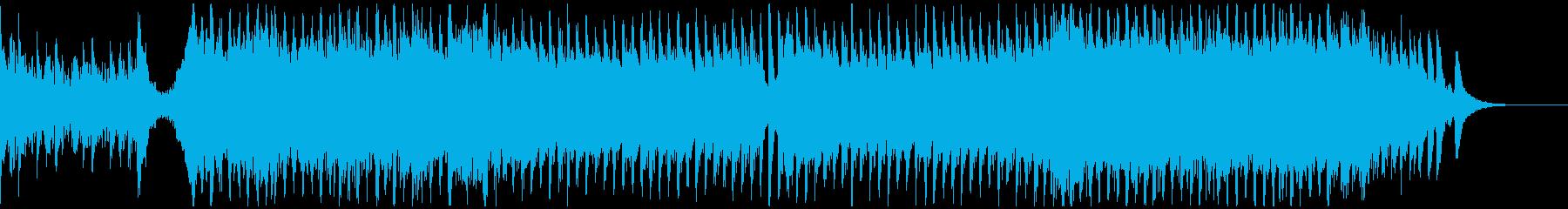 PR、CM、華麗なる衝撃、オーケストラSの再生済みの波形