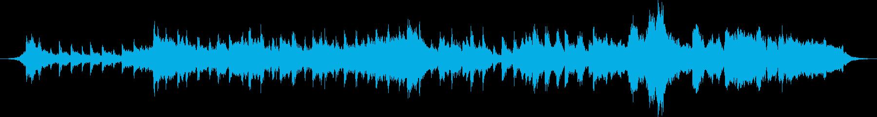 大河ドラマ風 戦シーンショートBGMの再生済みの波形