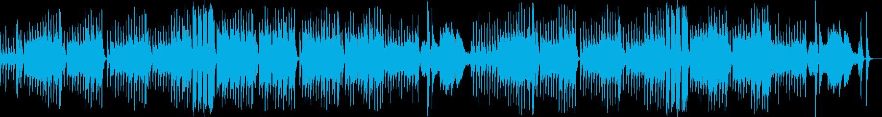クラシカルで怪しいゴシックホラーなBGMの再生済みの波形