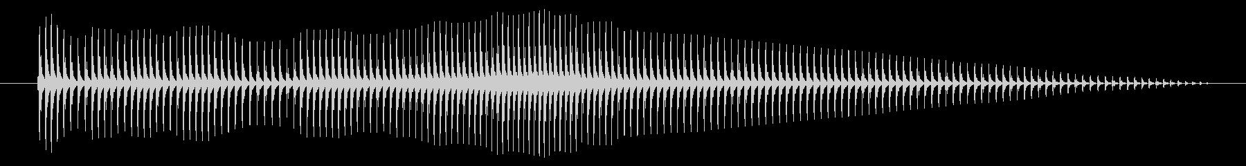 空腹02-6の未再生の波形