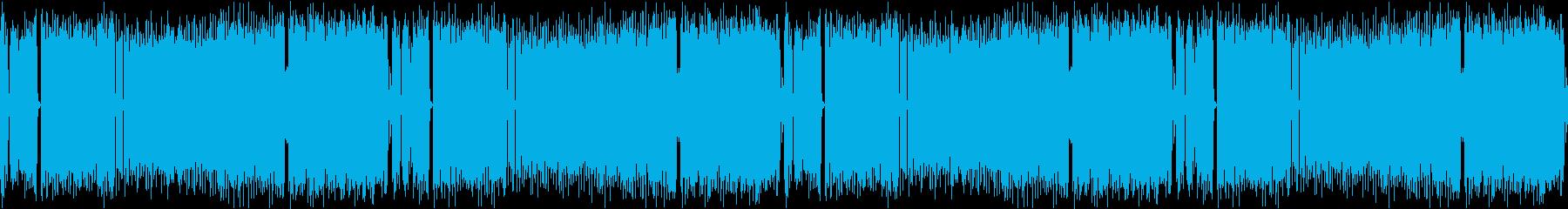 ハイテンション・パンク・OP・金管の再生済みの波形