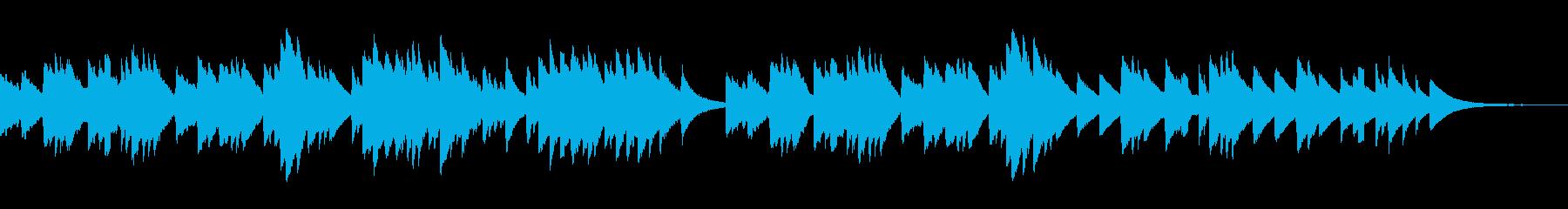 「ほたるこい」しっとり切ないオルゴールの再生済みの波形