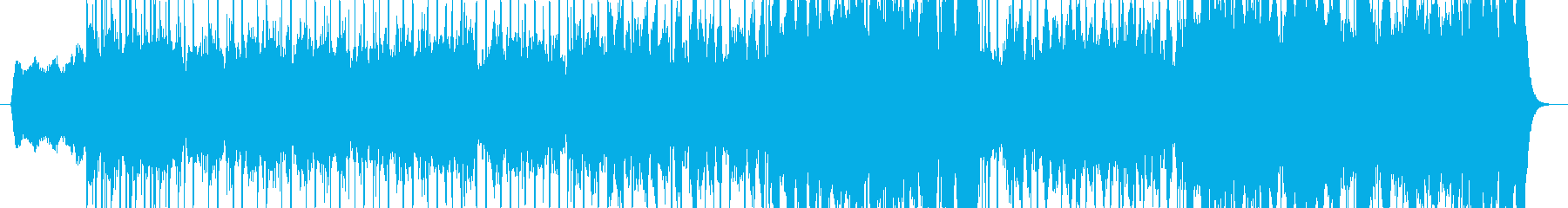 「ツクヨミノコエ」というネット朗読のB…の再生済みの波形