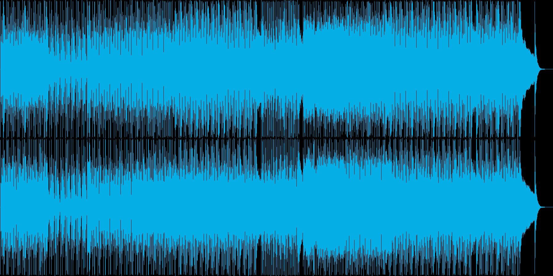 オシャレで軽快なシティポップ Vo 無の再生済みの波形