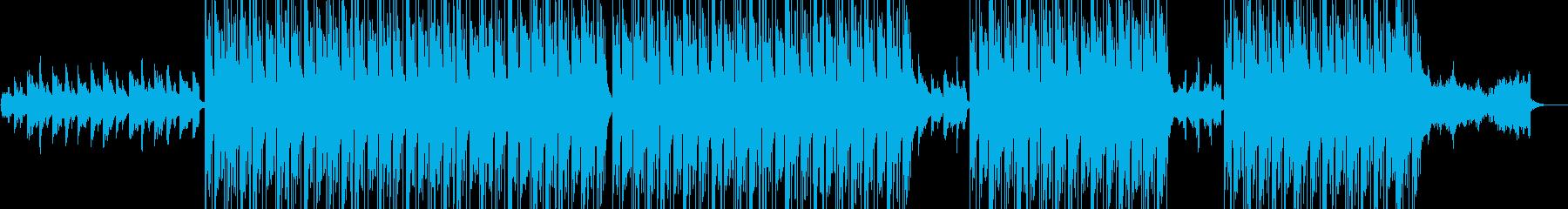 不思議な雰囲気のTrapの再生済みの波形