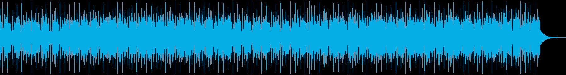 楽しいウクレレ楽曲,大人し目の再生済みの波形