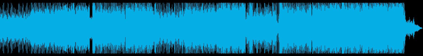 三味線生演奏、和風エレクトロの再生済みの波形