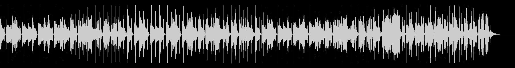 かわいいパズルBGM(スピードアップ有)の未再生の波形