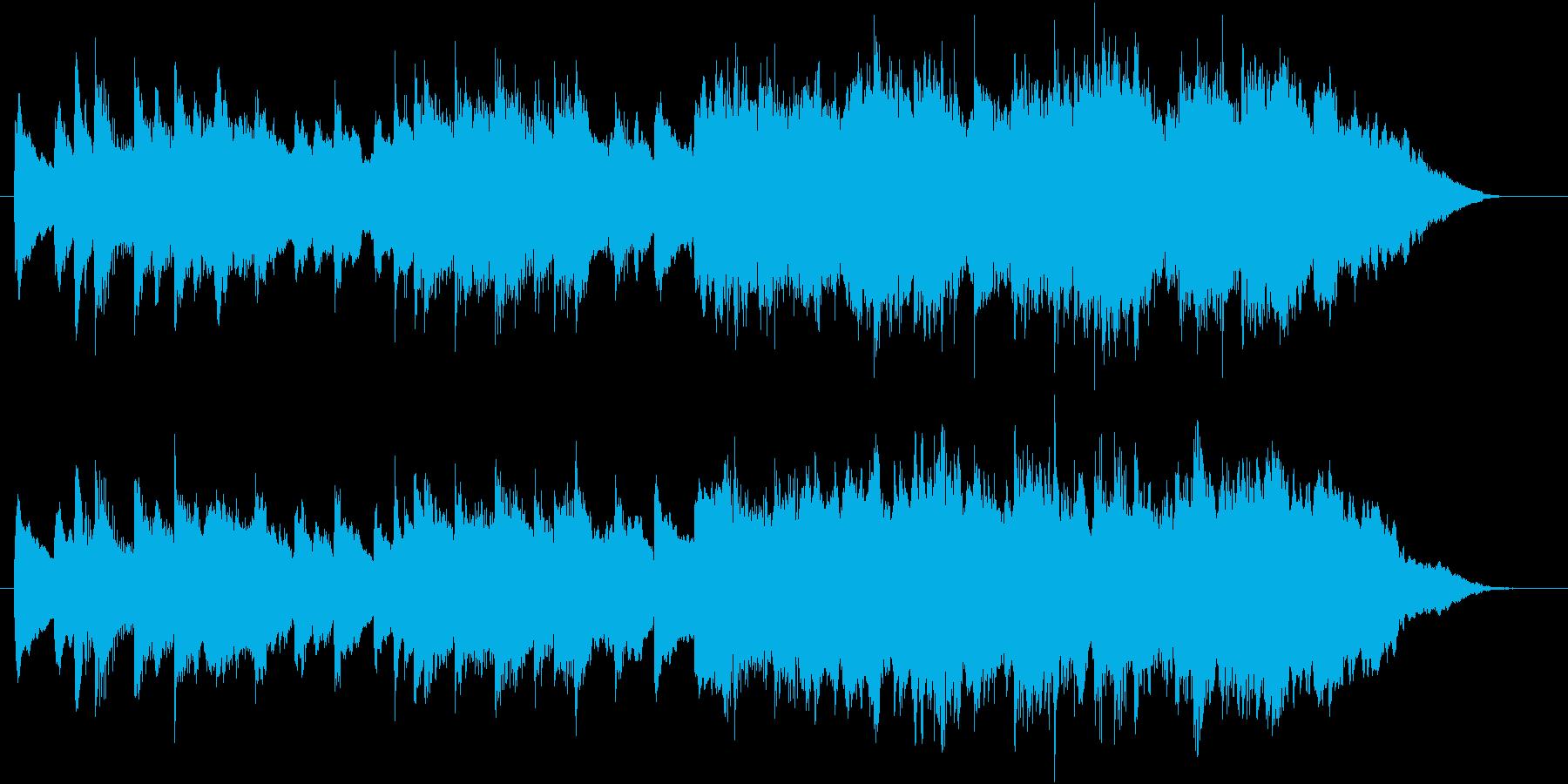 ほのぼのとして安らぐ癒し系BGMの再生済みの波形