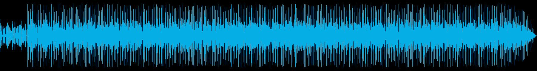 シリアスで緊迫感漂うファンク【伴奏のみ】の再生済みの波形