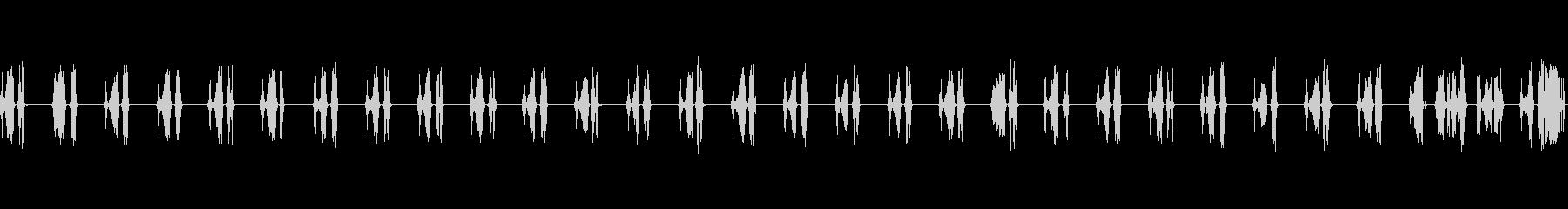 通信スキャナーのスキャン頻度低静的...の未再生の波形