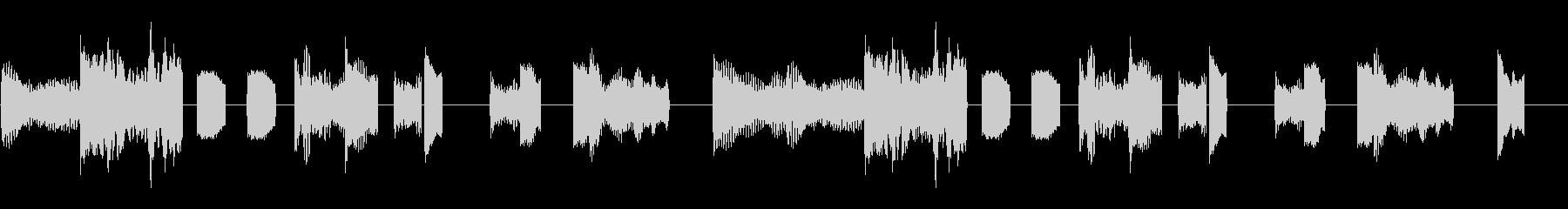 ローズピアノ音色のループの未再生の波形