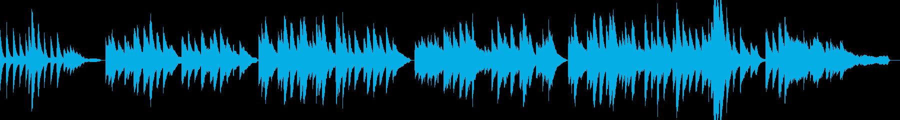 「ふるさと」ピアノアレンジ リバーブ浅めの再生済みの波形