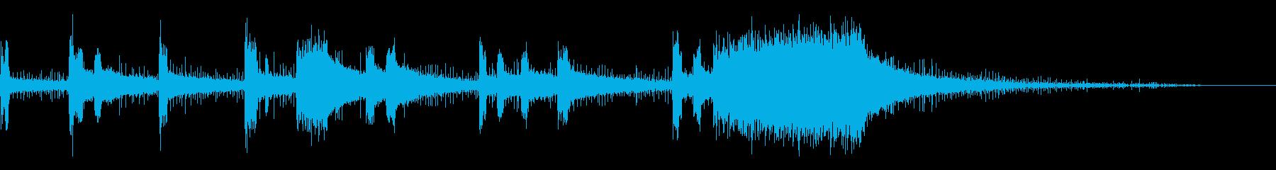小型ハンドヘルド電動研削ツール:シ...の再生済みの波形