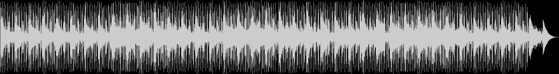 穏やかなアンビエント系ディープハウスの未再生の波形
