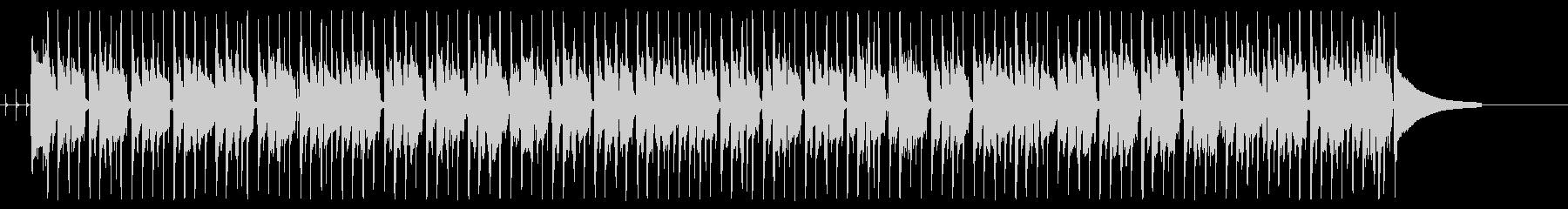 使いやすいファンク タンバリン無し版の未再生の波形